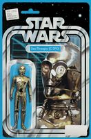 Star Wars #5 - Christopher (C-3PO) Action Figure Variant Cover
